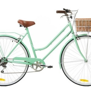 Mint Green Vintage Ladies Bike 6 Speed - Special Edition by Reid Cycles