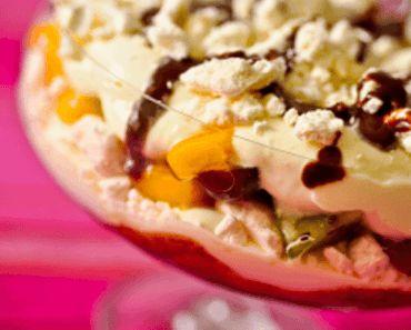 Receita-Merengue-Frutas-tropicais-Calda-Chocolate