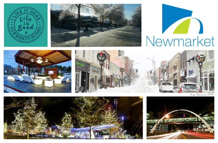 A collection of wonderful pictures that portray Newmarket in the snow. #Newmarket #Ontario  #snow.