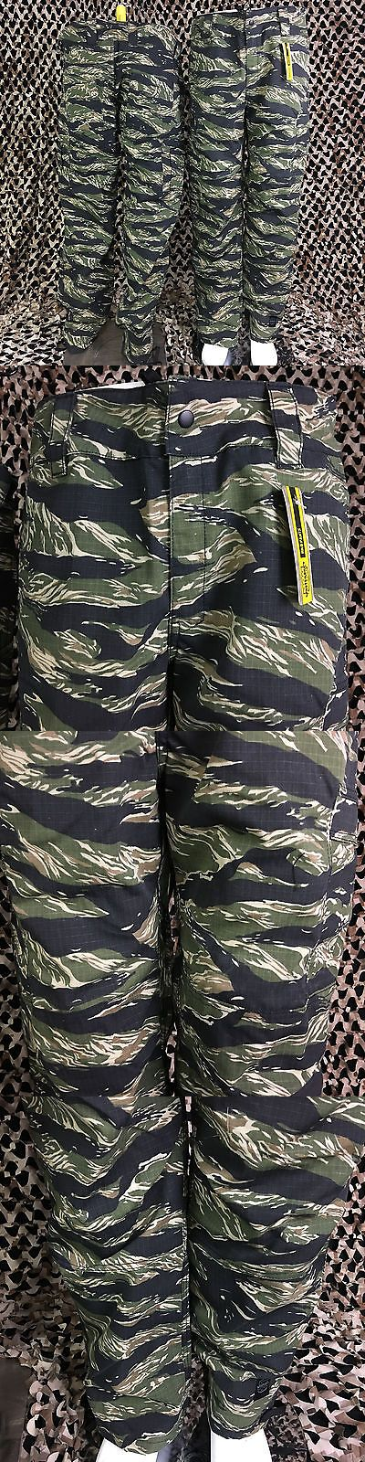 Pants and Shorts 165940: New Valken V-Tac Kilo Tactical Combat Paintball Pants - Tiger Stripe Camo -> BUY IT NOW ONLY: $49.95 on eBay!