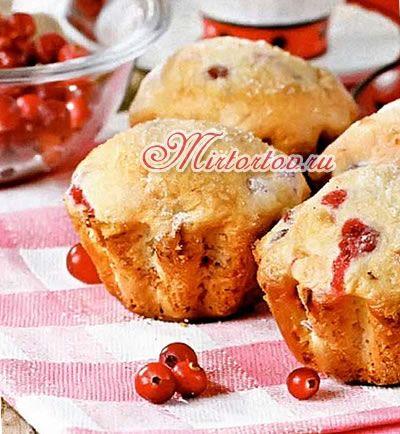 маффины с ягодами