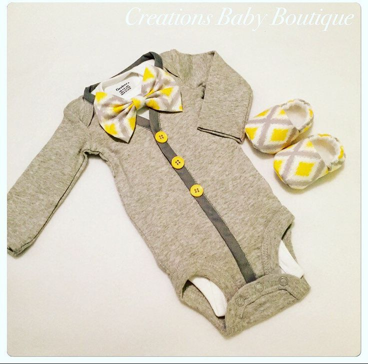 Baby boy cardigan onesies , bow tie and shoes set , Easter outfit , baby boy outfit , baby boy clothes set by CreationsBabyB on Etsy https://www.etsy.com/listing/263694268/baby-boy-cardigan-onesies-bow-tie-and