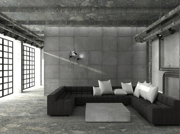 Projekty wnętrz w stylu industrialnym, więcej na http://www.artcoredesign.pl/projektowanie-wnetrz-w-stylu-industrialnym/