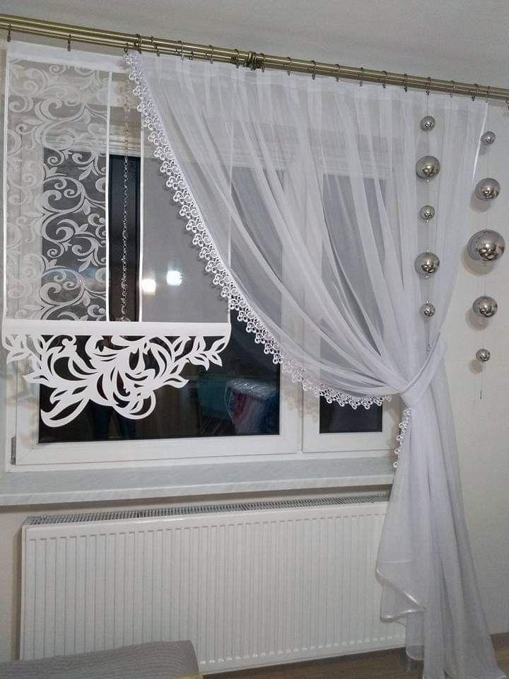 Pin Von Irene Gladki Auf Fensterdeko Gardinen Gardinen