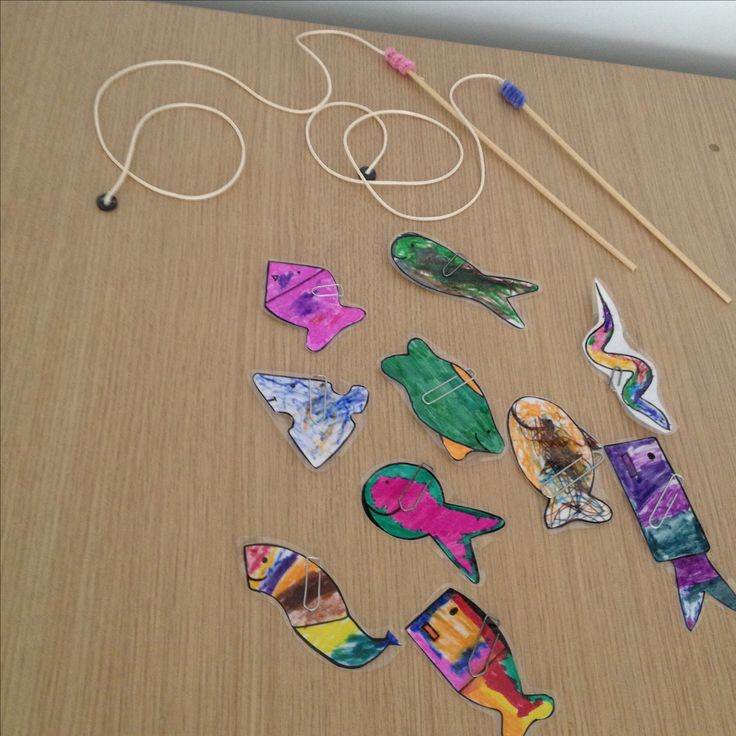 Παιχνίδι ψαρέματος ! Fishing game with magnets !