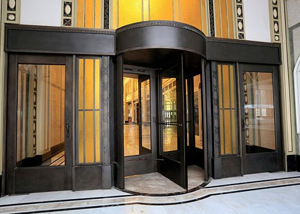 FRIDAY TRIVIA: Chivalry hating misogynist invented revolving doors (?!)