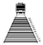 Here comes the train #barcode PD