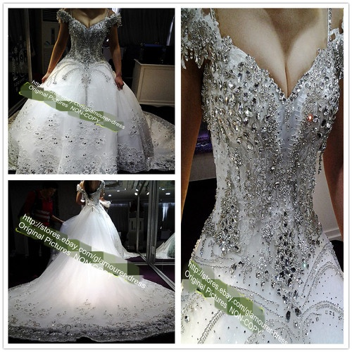 Wedding Gowns With Swarovski Crystals: 1000+ Images About Wedding Dresses With Swarovski Crystals