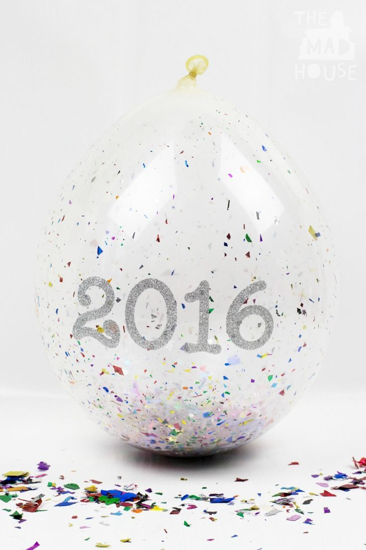 This simple Balloon Confetti Popper is such a great way to celebrate New Year or any other special occasion.  It is easy to make and looks amazing