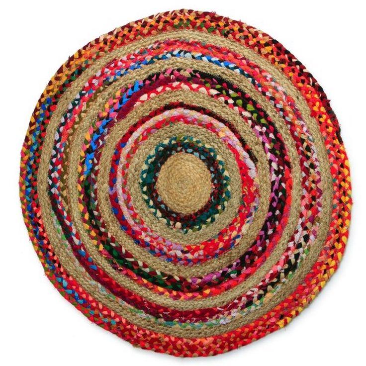vtwonen Vloerkleed Rond  80 cm  kinderkamer  Pinterest