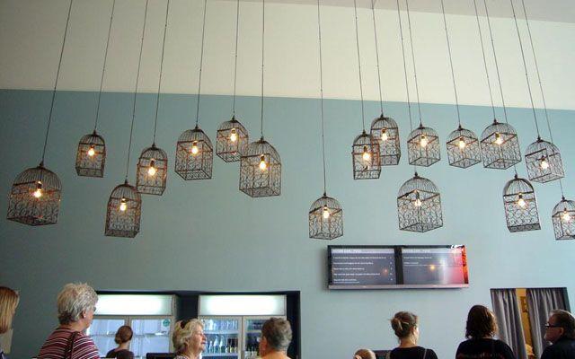 Las 25 mejores ideas sobre l mpara jaula en pinterest y - Decoracion con lamparas ...