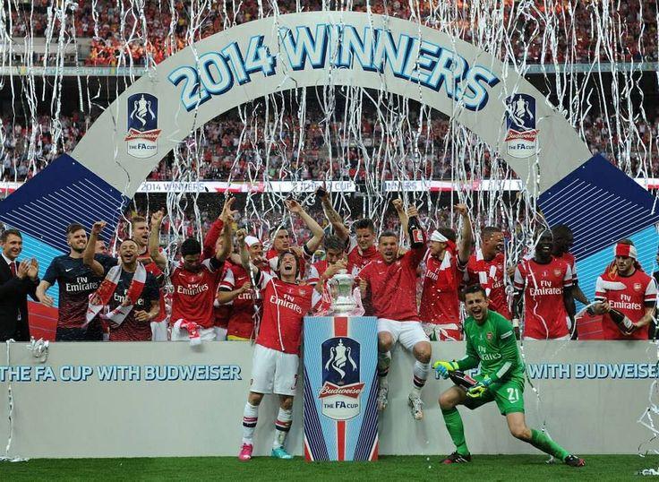 FA Cup Champion 2013/14 Arsenal COYG