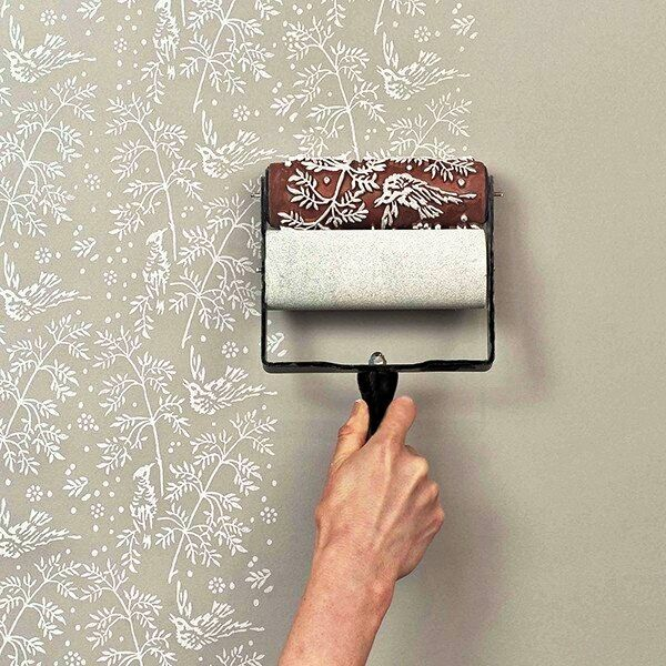 Walls Paints Design bathroom wall paint decorating ideas This Is Amazing Looks Way Easier Than Stenciling Stenciling Wallspaint