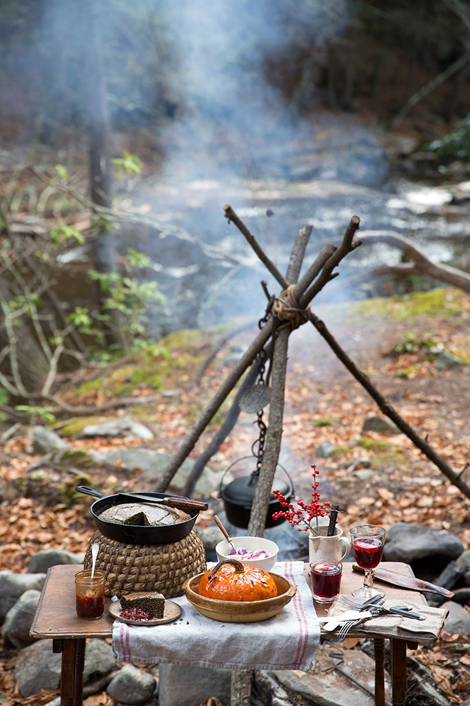 Le Petite Ten Mile River Camp: A Luxurious Campsite in the WesternCatskills | And North | http://andnorth.com