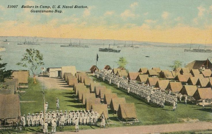 US Naval Station at Guantanamo Bay, Cuba. This was acquired as part of the Platt Amendment at the end of the Spanish American War.