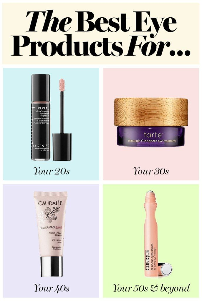 The best eye products for your 20's, 30's, 40's and more: from eye creams to wrinkle reducers