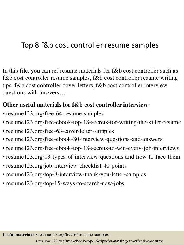 F B Controller | 3-Resume Format | Pinterest | Sample resume, Resume ...