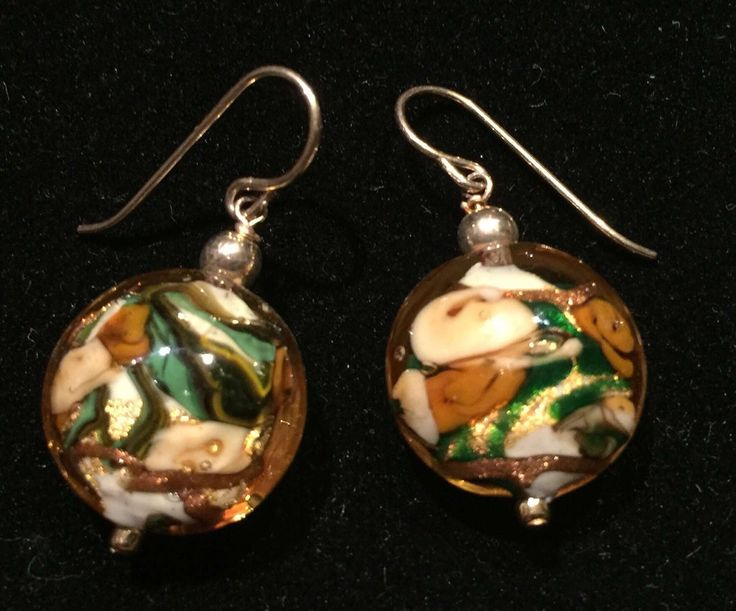 Murano topaz Bed of Roses earrings by MuranoBling on Etsy https://www.etsy.com/au/listing/520487069/murano-topaz-bed-of-roses-earrings