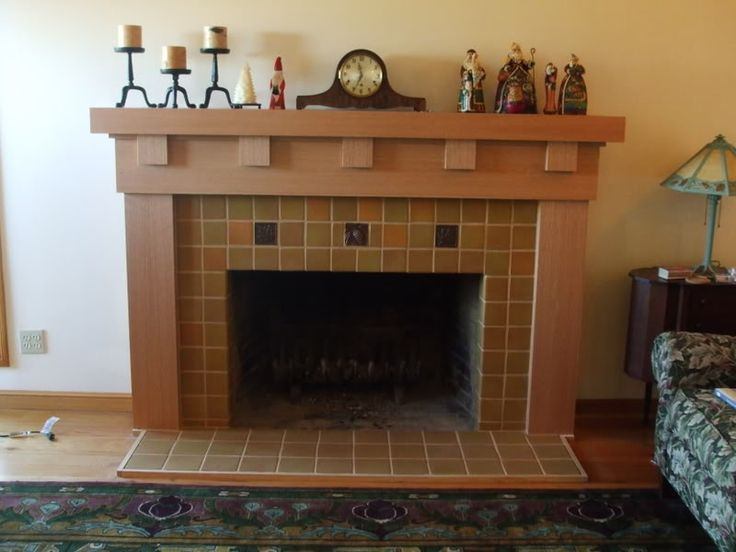 Top 25 ideas about fireplace redo on pinterest for Craftsman fireplaces photos