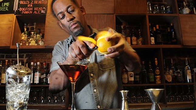 The Best Bars in Atlanta - The Sound Table My favorite bar in Atlanta and my favorite bartender all in one! -Kay