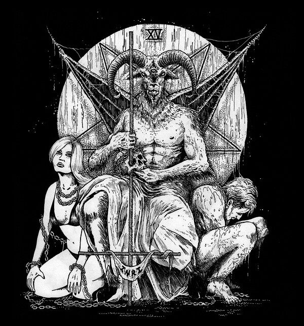chair and a half cover panasonic massage goat lord mark riddick | baphomet pinterest goats, heavy metal art