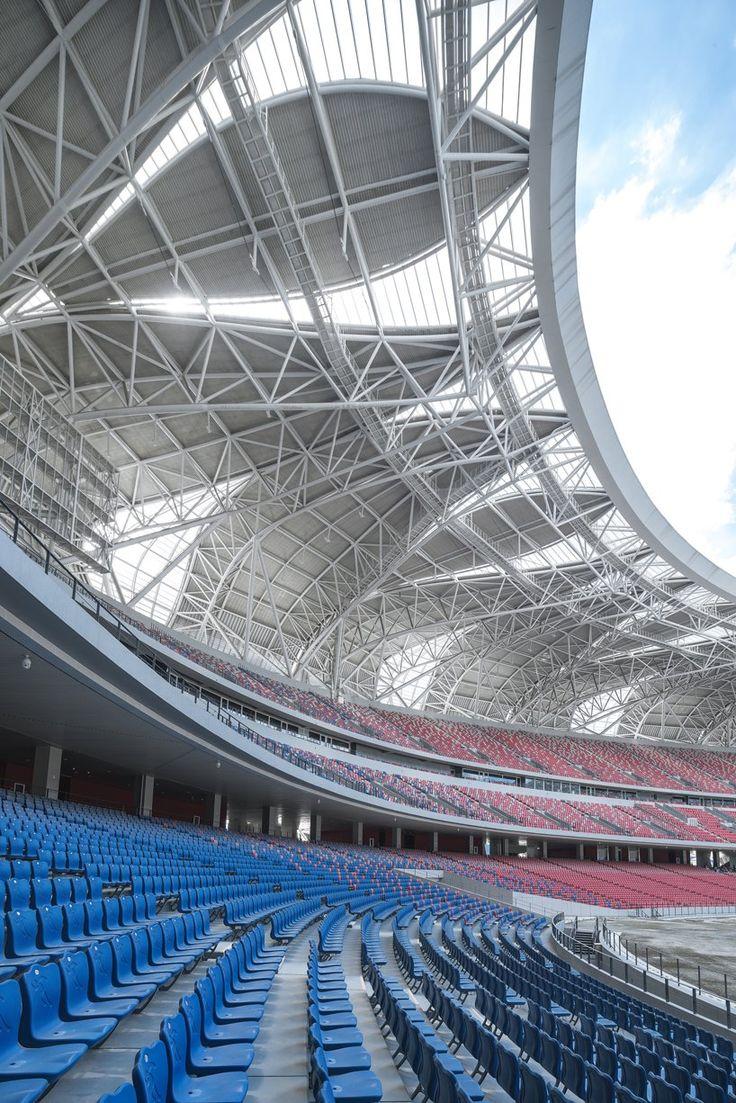 NBBJ expresses sustainable hangzhou stadiums with lotus