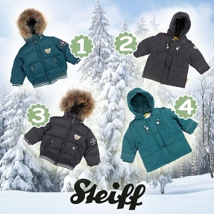 Soğuk kış günlerini enerjik karşılayın! Sizin Steiff Mini Deep Grey temasından favoriniz hangisi? :)