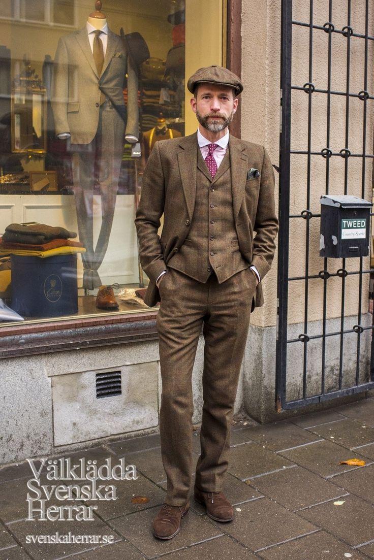 British Style — sowhatelseisnew: Meet Karl Oskar, aka Mr Tweed,...