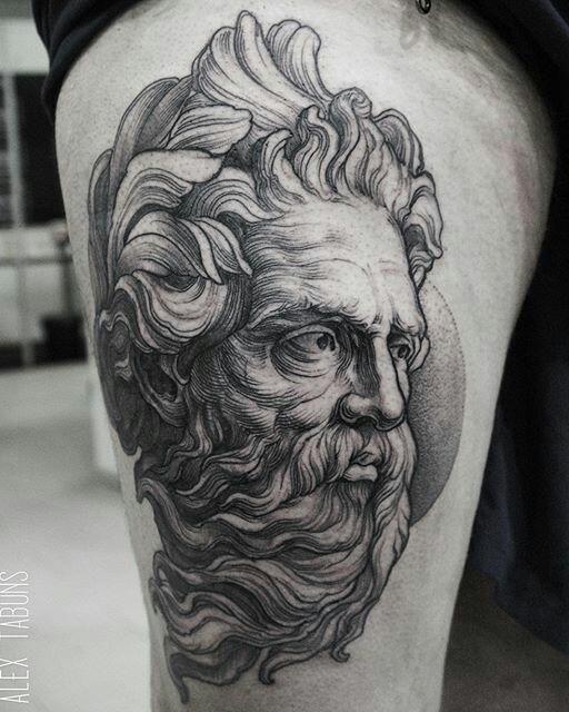 Tattoo by Alex Tabuns (@ alex_tabuns) #blackouttattoocollective #tattoo…
