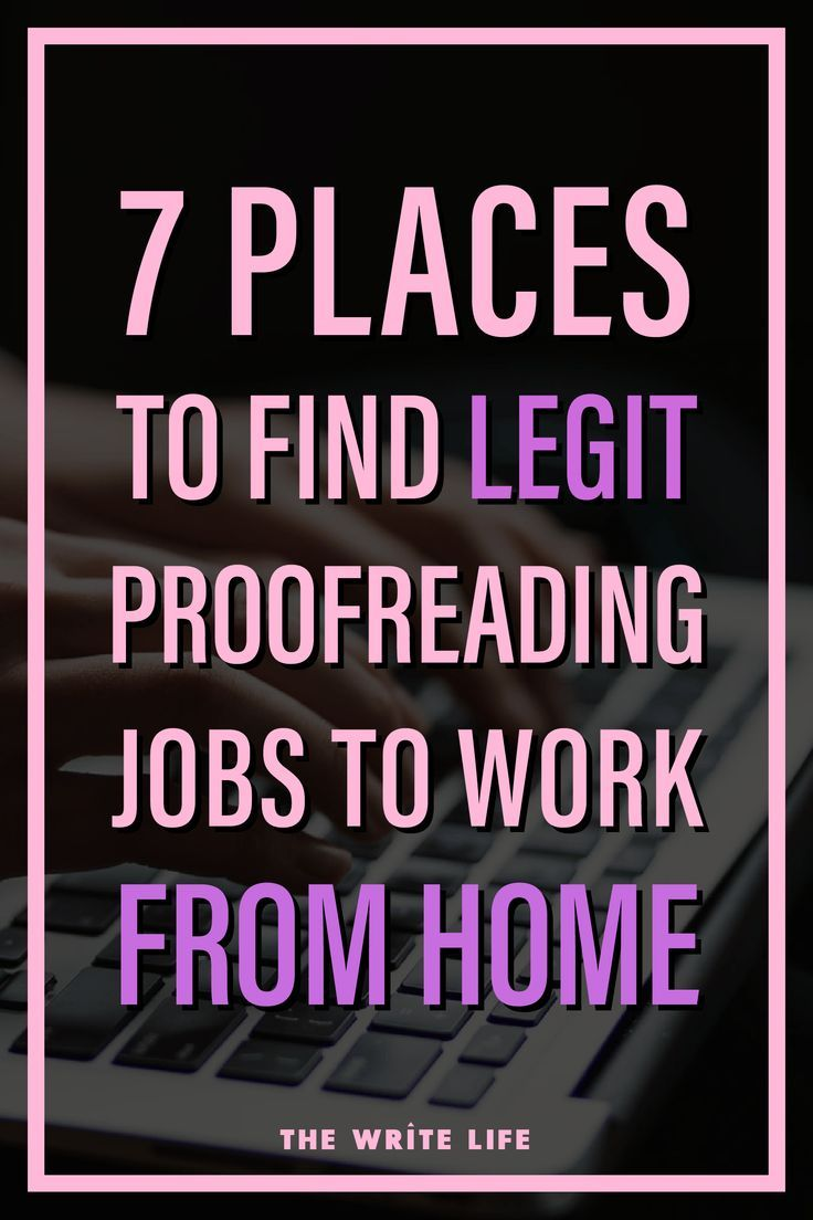 Get Paid To Hunt For Spelling And Grammar Errors 7 Places To Find Proofreading Jobs Proofreading Jobs Make Money Writing Spelling And Grammar