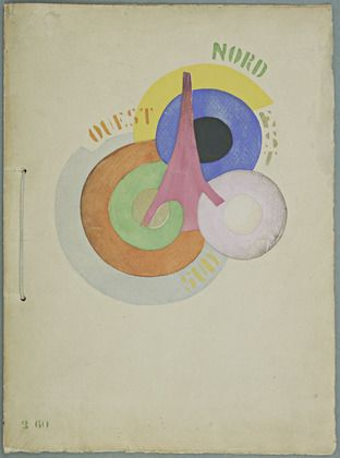 Vicente Huidobro / Robert Delaunay. Tour Eiffel. Madrid, 1918