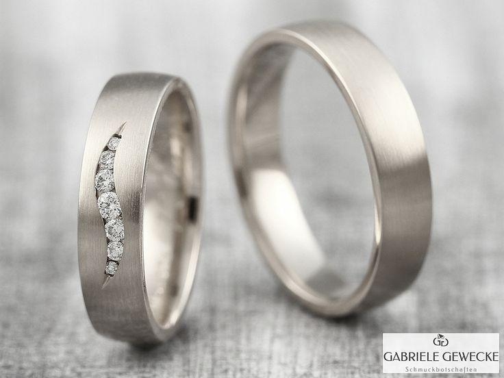 Eheringe gold mit 5 diamanten  Die besten 25+ Eheringe 6mm Ideen auf Pinterest | 8 mm breite ...