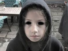 15 Chilling Stories Of The 'Black Eyed Children