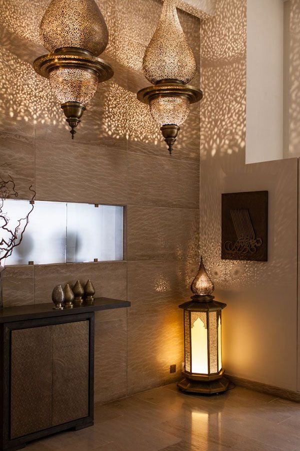Lanterns look beautiful in every room, in every style.