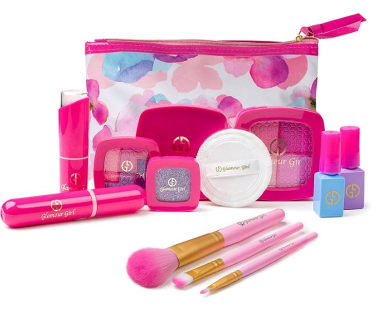 makeup kits for little girls. young girls makeup kit toy pre-school pretend play set little princess dress up kits for a