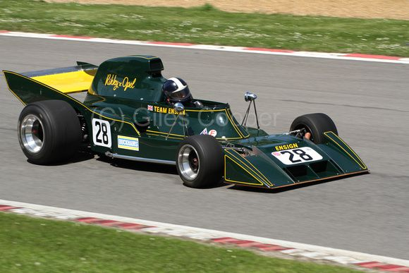 1973 Ricky Von Opel, Team Ensign, Ensign N173, Ford Cosworth DFV 3.0 V8