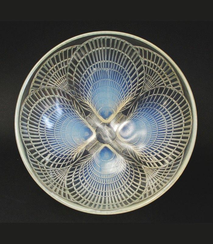 LALIQUE ルネ・ラリック COQUILLES ブルーオパルセントバージョン 1924年
