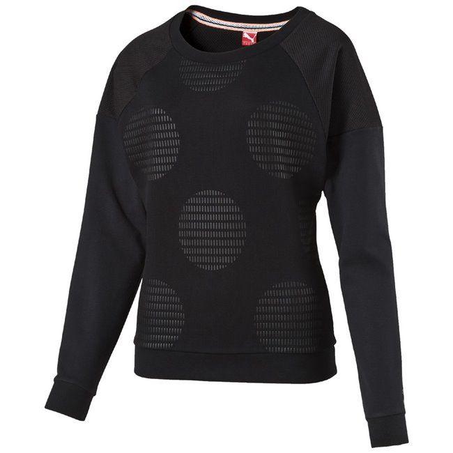 #PUMA Crew Neck #Women #sweatshirt  E-shop crish.cz