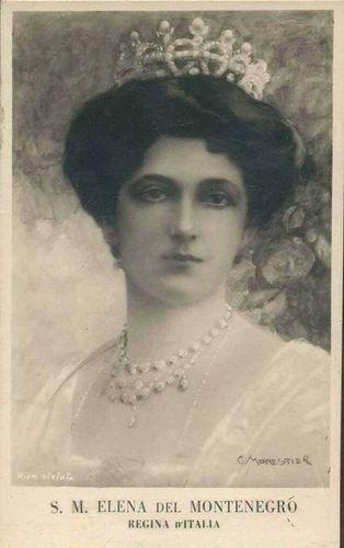 Elena del Montenegro, nata Jelena Petrović-Njegoš e, dopo il matrimonio, nota come Elena di Savoia (Cettigne, 8 gennaio 1873 – Montpellier, 28 novembre 1952), principessa del Montenegro, sesta figlia di re Nicola I del Montenegro e di Milena Vukotić, è stata la seconda regina d'Italia come consorte di Vittorio Emanuele III e madre di Umberto II.