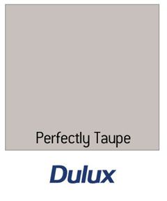 Dulux Matt Emulsion Paint - Perfectly Taupe - 2.5L