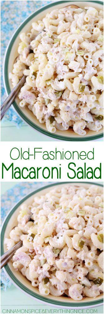 Mom's Old-Fashioned Macaroni Salad