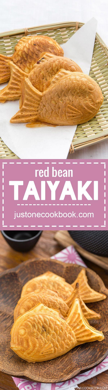 Taiyaki (鯛焼き)   Easy Japanese Recipes at JustOneCookbook.com
