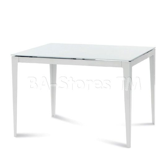 Wind-110 Extendable Dining Table in White