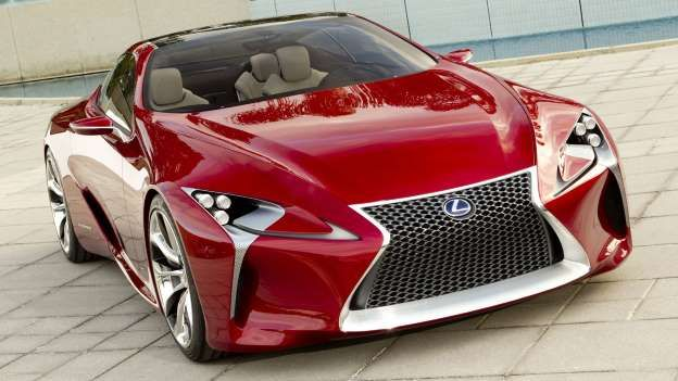 Could a stylish Lexus coupe powered by the firm's 5.0-liter V8 engine take on the likes of the Porsc... - Lexus