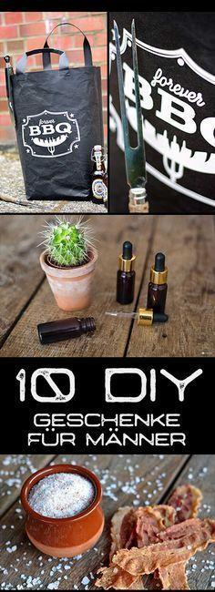 Die 10 einfachsten DIY Geschenke für Männer