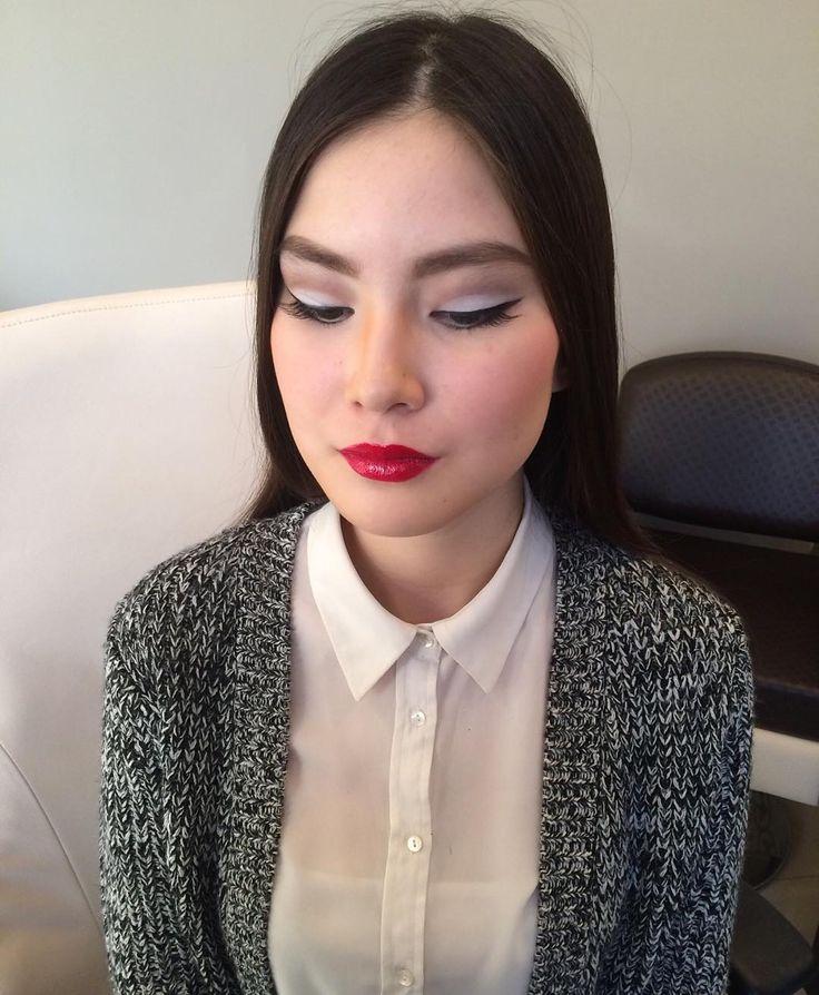 Голливудский макияж #макияжатырау#makeup#atyrau by make_up_atyrau_by_symbat