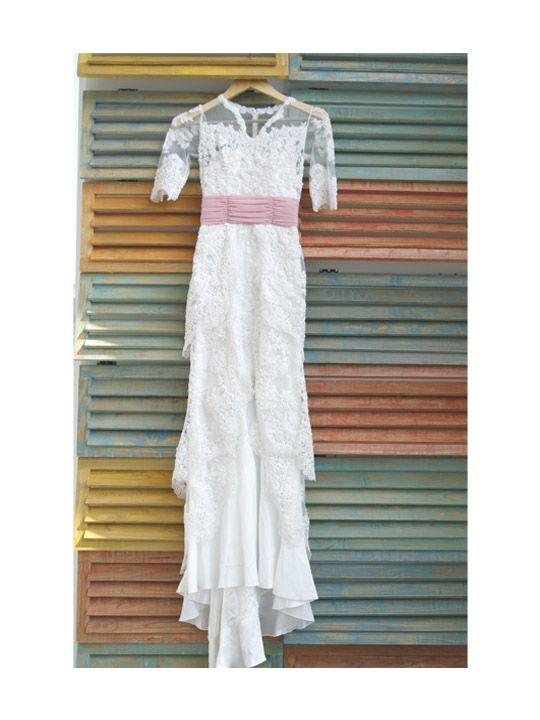 Rustic mix vintage lace wedding dress, our custom made wedding dress to Ms. Andin on 2014  #braidsco #brides #balibrides #sgbrides #balibible #wedding #jakarta #singapore  #dresses #designer #freespirited #bridesmaid #modernbride #braidsbrides