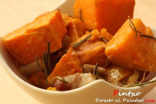 Batatas asadas al romero