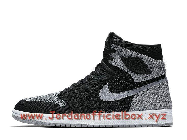 low priced 9f725 8d323 ... switzerland air jordan 1 retro high flyknit shadow grey 919704003  chaussures air jordan 2018 pour homme