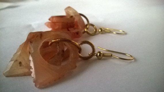 orecchini pendenti tormalina di madreperls su Etsy